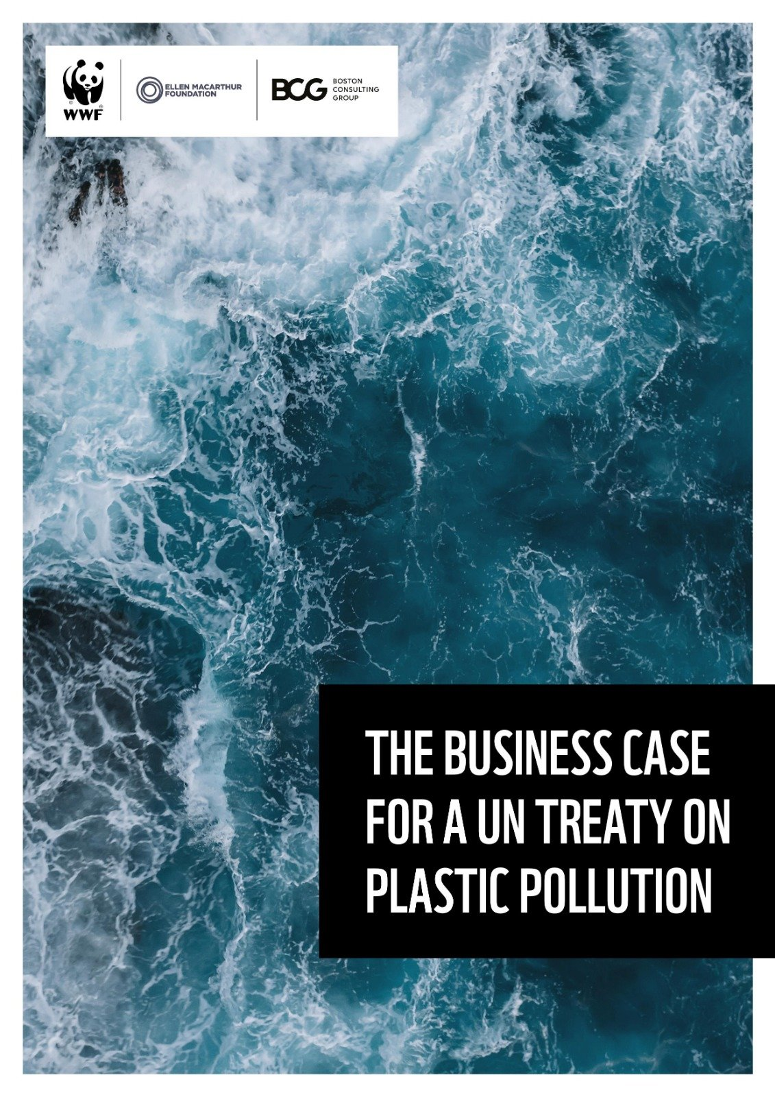 The business case for a UN treaty on plastic pollution cover